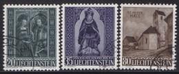 Liechtenstein   .    Yvert   .      336/338      .        O     .          Gebraucht - Liechtenstein