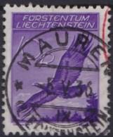 Liechtenstein   .    Yvert   .    Luft  13        .        O     .          Gebraucht - Air Post