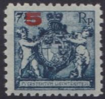Liechtenstein   .    Yvert   .    61 B        .        *    .          Ungebraucht   .     /   .   Mint-hinged - Liechtenstein