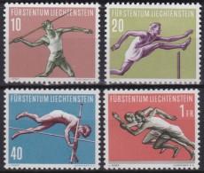 Liechtenstein   .    Yvert   .    304/307       .        *    .          Ungebraucht   .     /   .   Mint-hinged - Liechtenstein