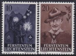 Liechtenstein   .    Yvert   .    322/323     .        **    .    Postfrisch   .     /   .   MNH - Liechtenstein
