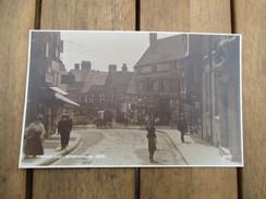CPA PHOTO ROYAUME UNI ANGLETERRE SHREWSBURY RUE - Shropshire