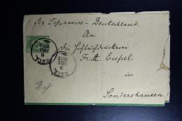 Russia : Newspaper Rapper 1890 To  Livland Arensburg Sondershausen - 1857-1916 Imperium