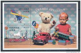 Sweden 2015 Facit #  BL 43 - Toys- Europa CEPT 2015 SS. MNH (**) - Nuovi