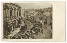 1. Weltkrieg Einzug Der Verbündeten Truppen In Das Wiedereroberte Przemysl Am 3. Juni 1915 Photo-AK - Weltkrieg 1914-18