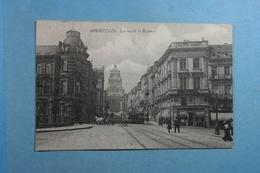 Bruxelles La Rue De La Régence - Lanen, Boulevards