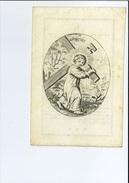 MARIE CJG GILLES DE 'S GRAVENWESEL NEE COMTESSE ROOSE DE BAISY + 'S-GRAVENWEZEL ( SCHILDE ) 1850 52 JAAR ECHT PERKAMENT - Images Religieuses