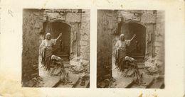PHOTO STEREOSCOPIQUE  8.5X16 (religion  Christianisme)   Madeleine Aux Pieds De Jésus - Stereoscopio