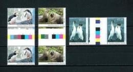 Antártida Australiana  Nº Yvert  95/7 (pareja Con Interpanel)  En Nuevo - Australian Antarctic Territory (AAT)