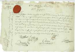 ARMEE DES ALPES – 6e BATAILLON DE L'AIN – 1794 - SUR LE PETIT SAINT BERNARD Camp Des Eaux Rousses Bour - Documents Historiques