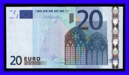 """20 EURO """"F"""" MALTA R027 D1  FIRMA  DRAGHI  CIRCULATED  RARE!!!!!! - EURO"""