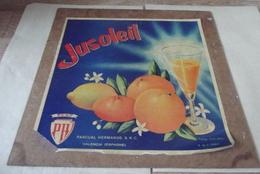 Ancien Publiciter Jusoleil 1961 Dimension Hauteur 25.50 Cm Largeur 25.50 Cm - Zonder Classificatie