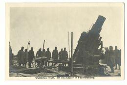 1. Weltkrieg 30,5cm Mörser In Feuerstellung Photo-AK - War 1914-18