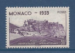 Monaco - YT N° 197 - Neuf Sans Charnière - 1939 - Monaco