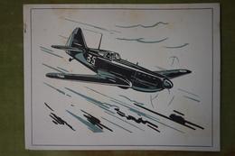 """Rare Et Bel Ensemble De 24 Planches """"Les Fiches Techniques De L'aviation"""" Illustrées Par Lucien CAVE - Aviation"""