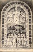 Verna, Casentino - Cartolina Antica L'ASCENSIONE (L. Della ROBBIA) Chiesa Principale (0708) - N83 - Sculptures