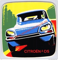 Citroën DS - Sticker 10.5x11cm - Automobili