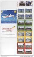Ethiopia - Ethiopie (2014) - Booklet -  /  Aircraft - Avion - Airplane - Flugzeug - Ethiopian Airlines - Vliegtuigen