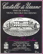 1203 - Italie - Toscane - 1985 -Vino Da Tavola Vigna Niccolo Da Uzzano - Castello Di Uzzano - Greve In Chianti - Rode Wijn