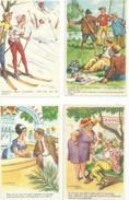 6 Belles Cartes JEAN CHAPERON  Non Ecrites Port 1,50 - Chaperon, Jean