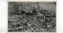 Postcard - Flugzeugaufnahme Von Koln Am Rheim Mit Blick Auf Den Dom - No Card No Very Good - Postcards