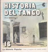 HISTORIA DEL TANGO. BLAS MATAMORO. 1971, 117 PAG. CENTRO DE EDITOR DE AMERICA LATINA - BLEUP - Geschiedenis & Kunst
