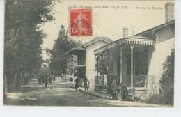 MILITARIA - CAMP DE SAINT MEDARD EN JALLES - L'Avenue Du Moulin - France