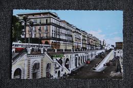 ALGER - Boulevard De La République Et L'Hôtel De L'OASIS - Alger