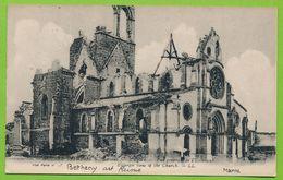 Guerre 1914-1916 BETHENY L'Eglise Vue Générale De L'Extérieur - Bétheny