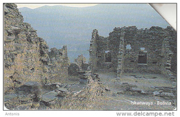 BOLIVIA(Urmet) - Iskanwaya, Exp.date 31/12/99, Used - Bolivia