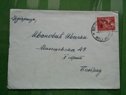 Letter, Lettre, BELI POTOK - 1945-1992 Socialist Federal Republic Of Yugoslavia