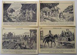 Lot De 95 Cartes Postales Histoire De France Dessin M.A.Carlier éditeur Lib Istra Très Belles Illustrations - France