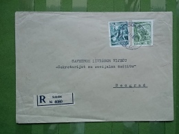 Letter, Lettre, SOKOLAC - 1945-1992 Socialist Federal Republic Of Yugoslavia