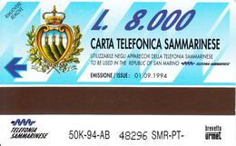 SAN MARINO-Urmet-Erstausgabe - Saint-Marin