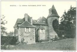 Beaune - Le Chateau Guillaumets 18 è Siècle    Md138 - Francia