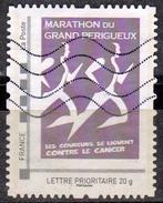 FRANCE 2017 - LETTRE PRIORITAIRE 20 G - Marathon Du Grand Périgueux - Les Coureurs Se Liguent Contre Le Cancer  Oblitéré - France