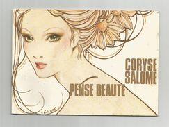 Petit Livret Catalogue Pensé Beauté Coryse Salomé Couverture Belle Femme Illustré Par Lacaze 17 Pages 10,3x14,5 Cm - Fashion