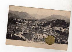 VICENZA SCHIO Panorama Viaggiata 1919 - Vicenza