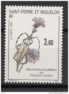 SPM - 1993 - N°Yv. 575 - Insecte - Neuf Luxe ** / MNH / Postfrisch - Insekten