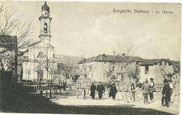 Alessandria Borghetto Borbera La Chiesa Cartolina Formato Piccolo Animata  # C1 - Alessandria