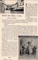 CPA   89   SENS---HOTEL DE L'ECU - Sens