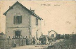 MUZILLAC, La Gare - Muzillac