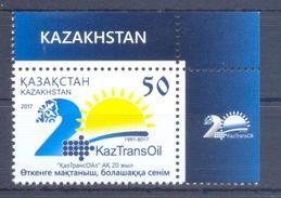 2017. Kazakhstan, 20y Of KazTransOil, 1v, Mint/** - Kazakhstan