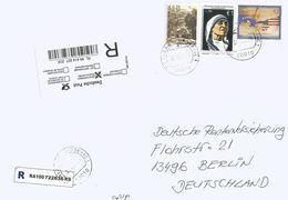 Kosovo 2011 Ferizaj Mother Teresa Friendship USA Village Barcoded Registered Cover - Kosovo