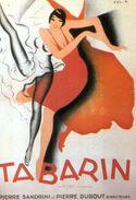 Tabarin, Illustrateur P Colin,Nos Publicites Editions Nugeron - Artisti