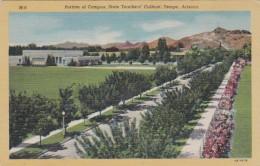 Arizona Tempe Portion Of Campus State Teachers' College Curteich - Tempe