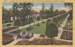 Arizona Chandler Orange Vista & Gardens San Marcos Hotel And Bungalows Curteich - Chandler