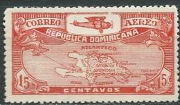 Republique Dominicaine   - Aérien   - Yvert N°  4 (*) Nsg - Ava 16721 - Dominicaine (République)