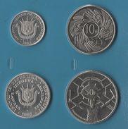 BURUNDI COIN SET 4 MONNAIES: 1 FRANC - 50 FRANCS 1980 - 2011 - Burundi