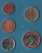 NIGERIA COIN SET 5 MONNAIES: 1 KOBO - 2 NAIRA 1991 - 2006 - Nigeria